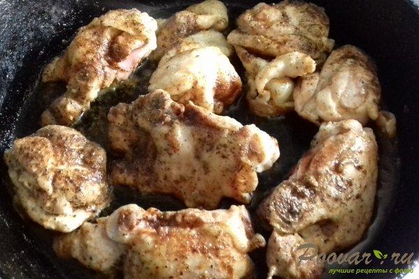 Курица с баклажанами Шаг 5 (картинка)