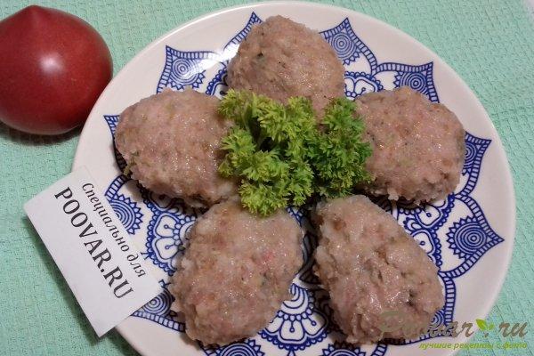 Мясные котлеты с кабачками Изображение