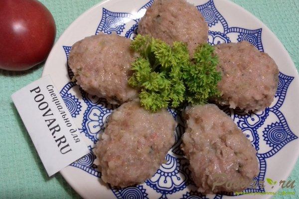 Мясные котлеты с кабачками Шаг 13 (картинка)