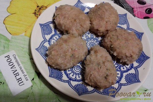Мясные котлеты с кабачками Шаг 12 (картинка)