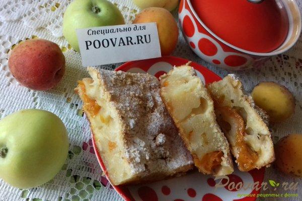 Пирог с яблоками и абрикосом Изображение