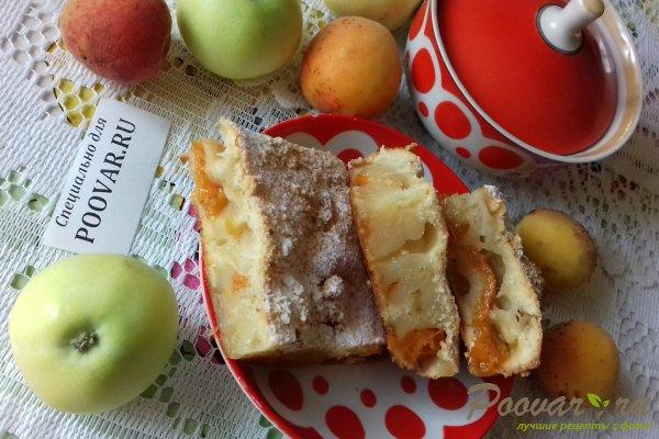 Пирог с яблоками и абрикосом Шаг 17 (картинка)