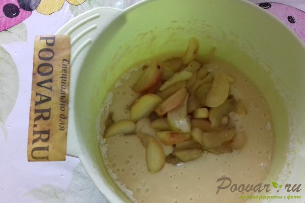Пирог с яблоками и абрикосом Шаг 10 (картинка)