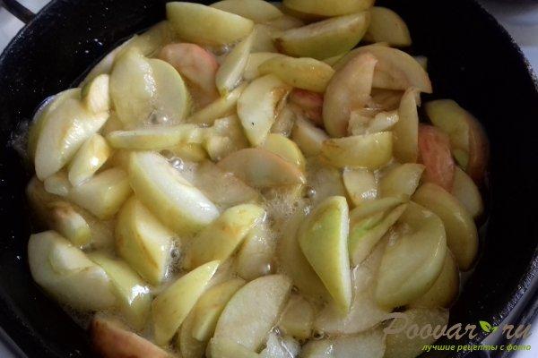 Пирог с яблоками и абрикосом Шаг 3 (картинка)
