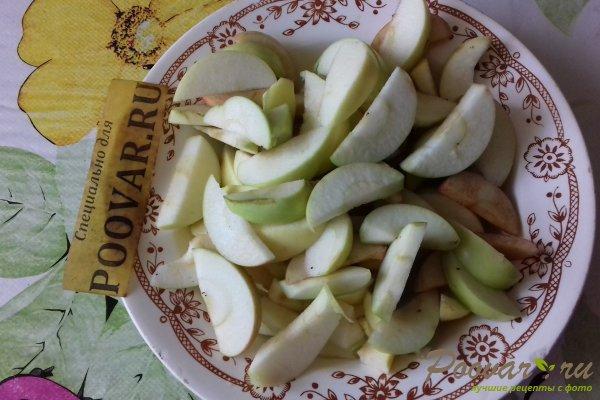 Пирог с яблоками и абрикосом Шаг 1 (картинка)
