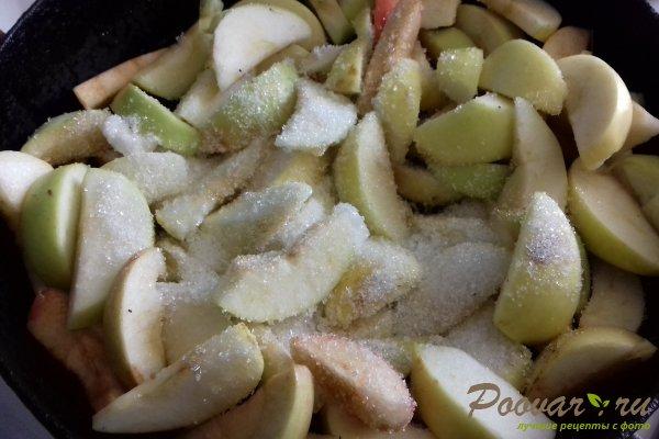 Пирог с яблоками и абрикосом Шаг 2 (картинка)