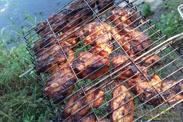 Свиной подчеревок с горчицей на мангале Шаг 11 (картинка)