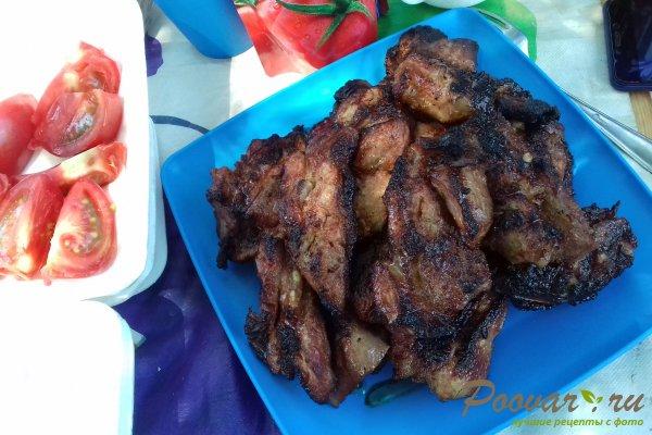 Свиной подчеревок с горчицей на мангале Шаг 12 (картинка)