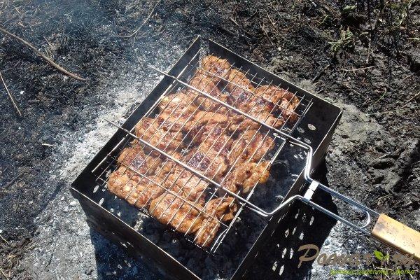 Свиной подчеревок с горчицей на мангале Шаг 10 (картинка)