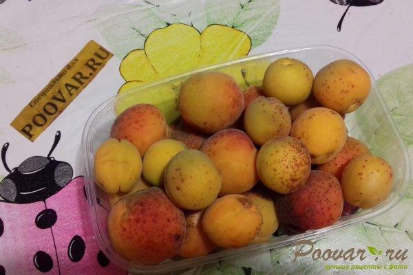 Шоколадно - абрикосовый джем на зиму Шаг 1 (картинка)