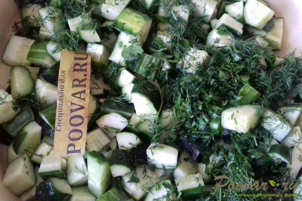 Салат из огурцов с горчицей на зиму Шаг 6 (картинка)