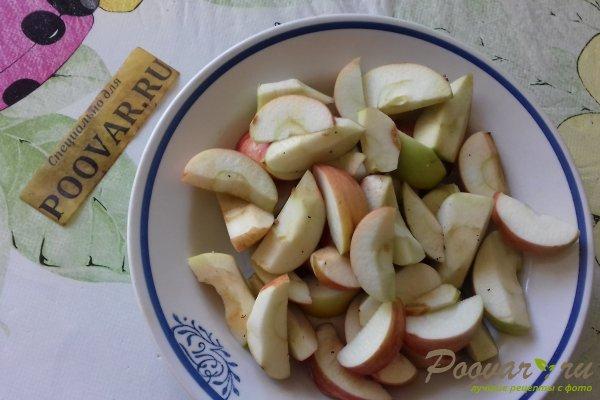 Пирог с яблоками и вишней Шаг 1 (картинка)