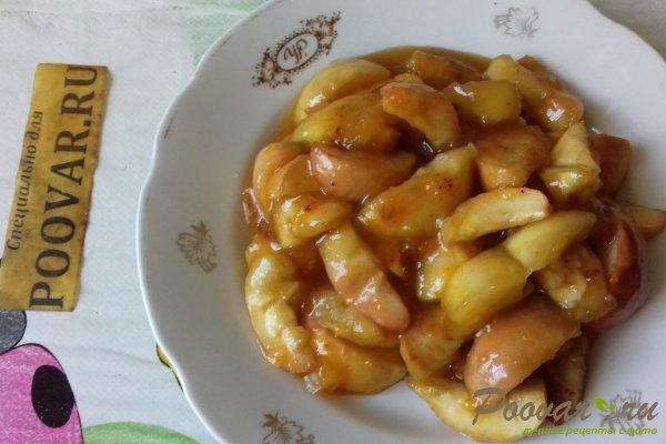 Пирог с яблоками и вишней Шаг 10 (картинка)