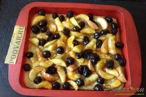Пирог с яблоками и вишней Шаг 14 (картинка)