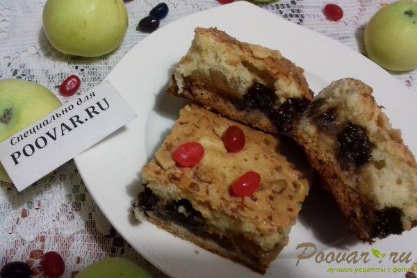 Пирог с яблоками и вишней Шаг 19 (картинка)