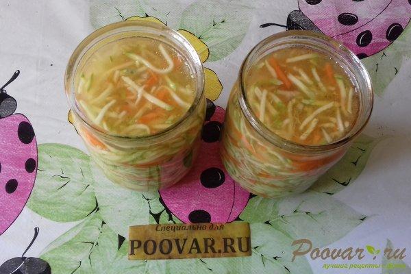 Салат из кабачков с морковью на зиму Шаг 8 (картинка)