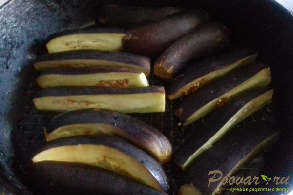 Баклажаны с чесноком на зиму Шаг 3 (картинка)