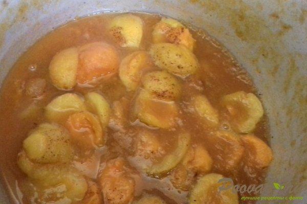 Пирог с абрикосовой начинкой и творогом Шаг 2 (картинка)