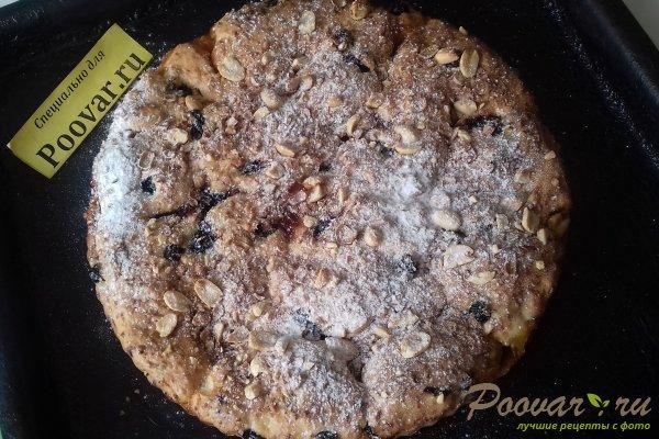 Пирог с абрикосовой начинкой и творогом Шаг 14 (картинка)