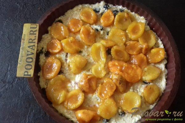 Пирог с абрикосовой начинкой и творогом Шаг 10 (картинка)