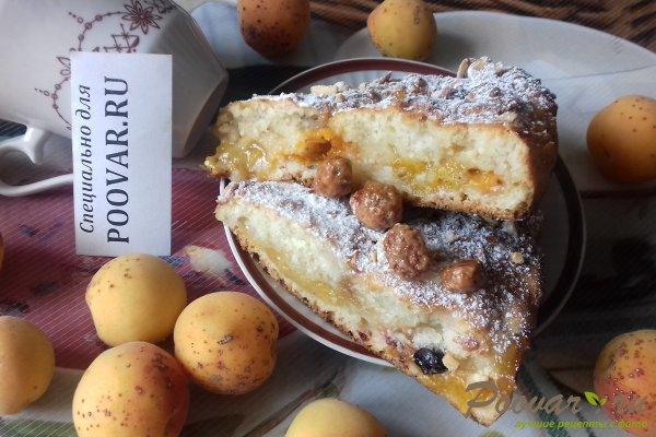 Пирог с абрикосовой начинкой и творогом Шаг 15 (картинка)