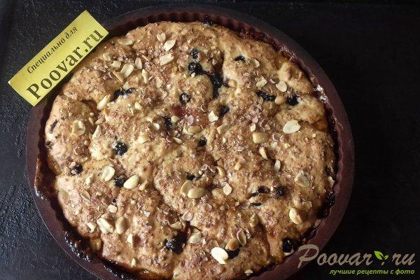 Пирог с абрикосовой начинкой и творогом Шаг 13 (картинка)