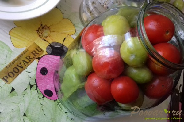 Овощное ассорти со сливой Шаг 6 (картинка)