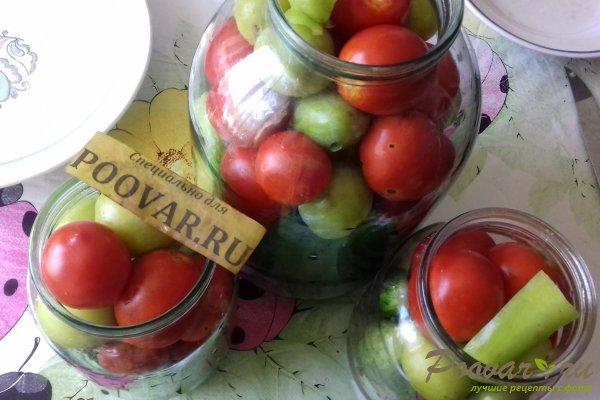 Овощное ассорти со сливой Шаг 7 (картинка)