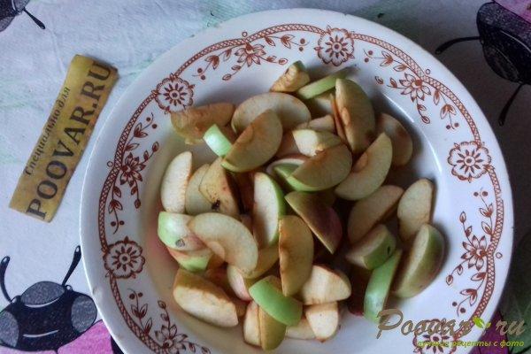 Яблочный пирог с творогом и маком Шаг 1 (картинка)