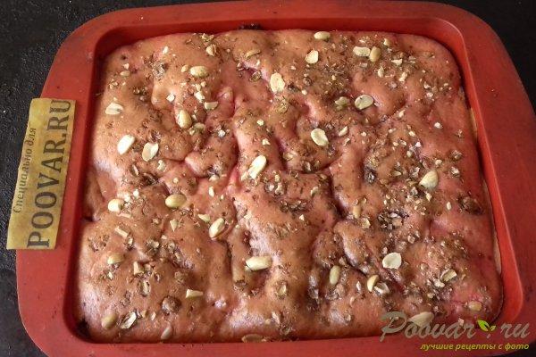 Цветной пирог с тыквой и яблоками Шаг 12 (картинка)