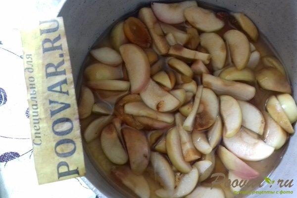Цветной пирог с тыквой и яблоками Шаг 7 (картинка)