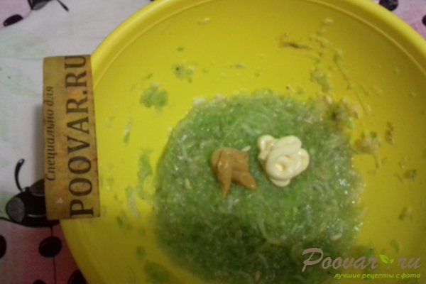 Закуска из кабачков и огурцов Шаг 10 (картинка)