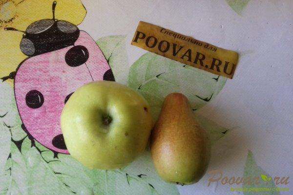 Оладьи с яблоками и грушами Шаг 4 (картинка)