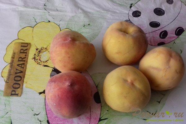 Пирог с персиками и яблоками Шаг 1 (картинка)