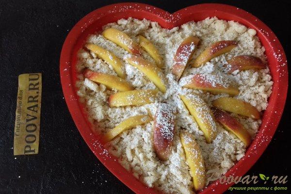 Пирог с персиками и яблоками Шаг 12 (картинка)