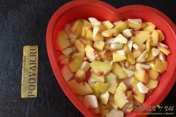 Пирог с персиками и яблоками Шаг 9 (картинка)