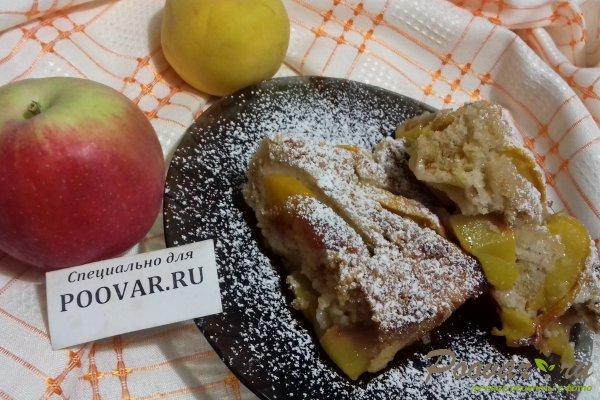 Пирог с персиками и яблоками Шаг 15 (картинка)