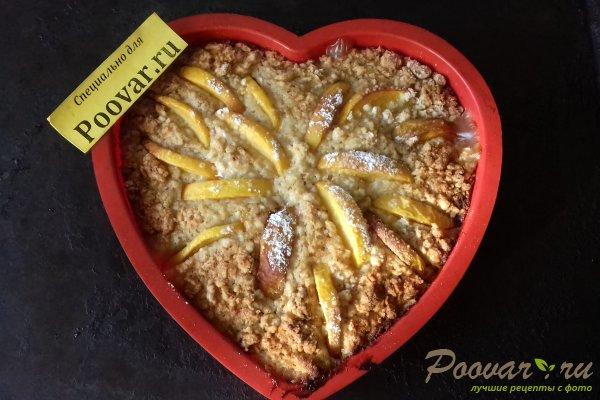 Пирог с персиками и яблоками Шаг 13 (картинка)