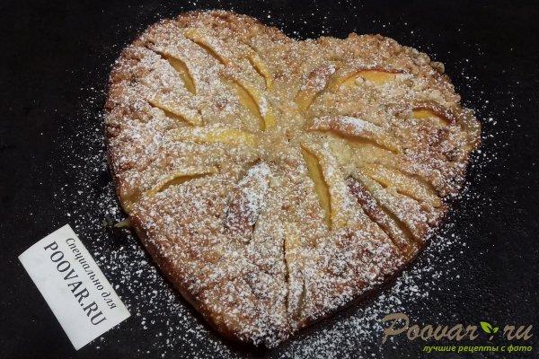 Пирог с персиками и яблоками Шаг 14 (картинка)