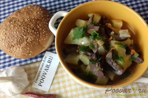 Картофель тушёный с почками Изображение