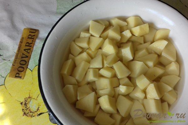Картофель тушёный с почками Шаг 9 (картинка)