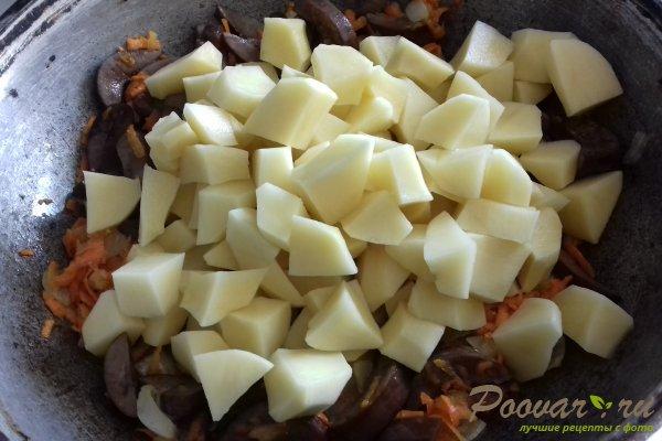 Картофель тушёный с почками Шаг 10 (картинка)
