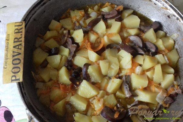 Картофель тушёный с почками Шаг 13 (картинка)
