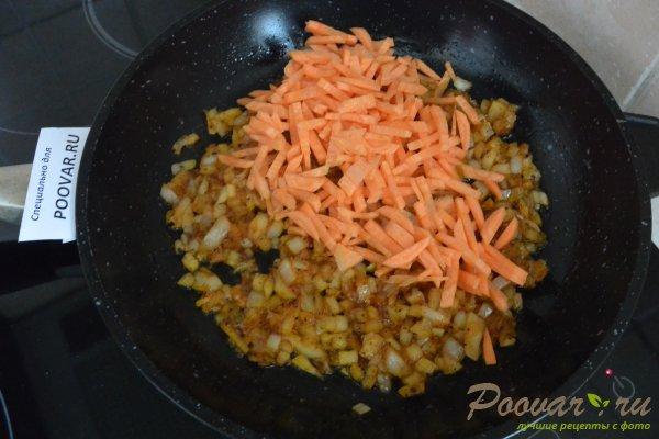 Гречневая каша в сливочном соусе с колбасой Шаг 2 (картинка)