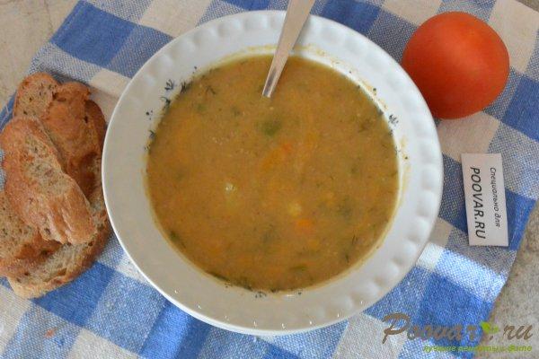 Постный суп из чечевицы в мультиварке-скороварке Изображение