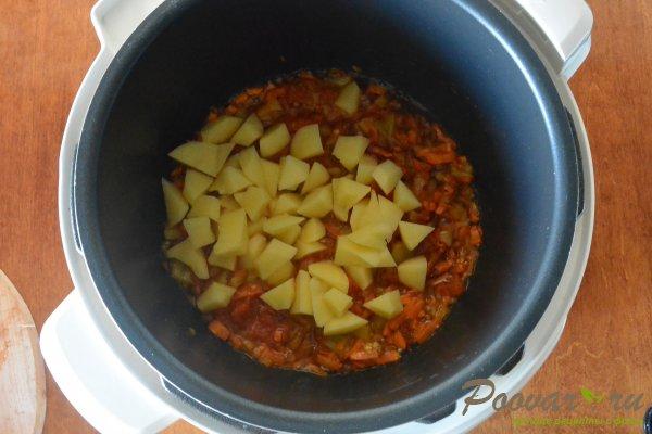 Постный суп из чечевицы в мультиварке-скороварке Шаг 6 (картинка)