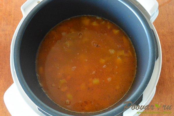 Постный суп из чечевицы в мультиварке-скороварке Шаг 8 (картинка)