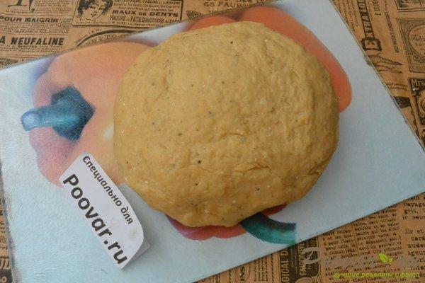 Картофельное тесто для жареных пирожков Изображение