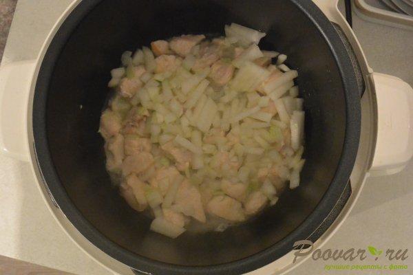 Овощное рагу в мультиварке-скороварке Шаг 3 (картинка)