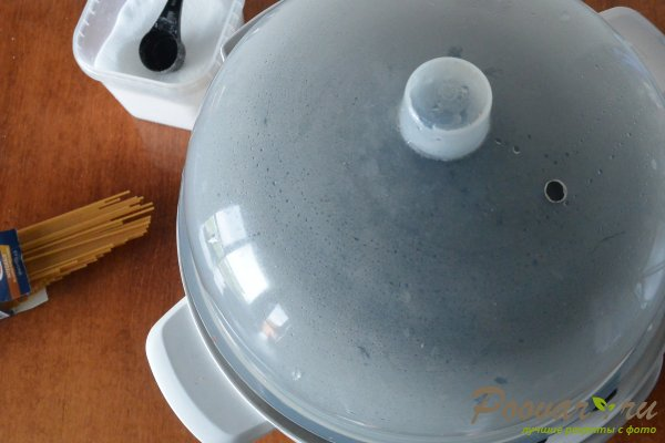 Спагетти в мультиварке-скороварке Шаг 5 (картинка)
